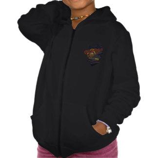 Girls' American Apparel California Fleece Zip Hood Hooded Sweatshirts