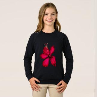Girls american apparel Raglan tshirt