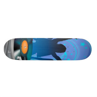 girls-and-music skate board deck