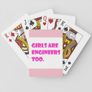 Girls Are Engineers Too Cards