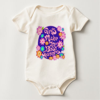 Girls are the Best Skaters! Baby Bodysuit