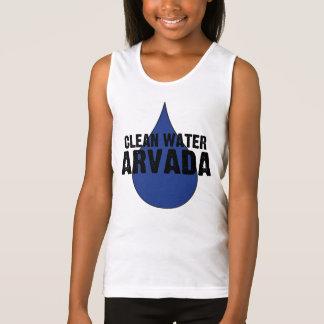 Girls ARVADA Clean Water Spaghetti Strap Singlet