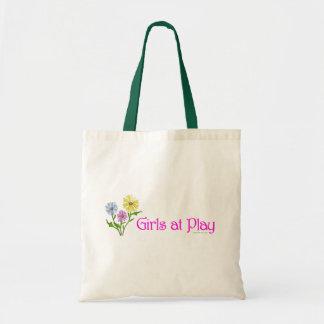 Girls at Play Tote Bag