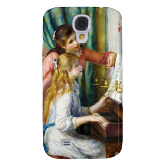 Girls at the Piano Pierre Auguste Renoir painting Samsung Galaxy S4 Case