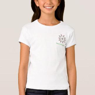 Girl's Baby Doll Shirt: Mommy's Little HIppie Kid Shirt