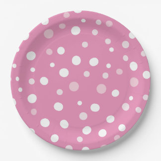 "Girls Baby It's Cold Outside 9"" Paper Plate"