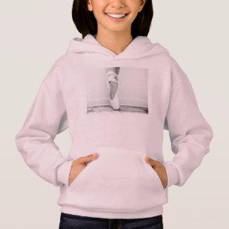 Girls ballet hoodie