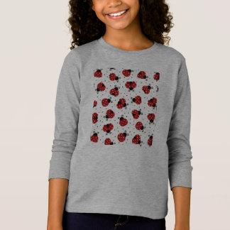 Girls' Basic Long Sleeve Coccinelle T-Shirt