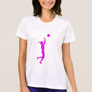GIRL'S BASKETBALL PLAYER MICRO FIBER PERFORMANCE T T-Shirt