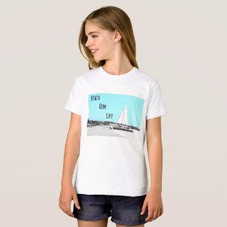Girls' Beach Bum American Apparel Organic T-Shirt
