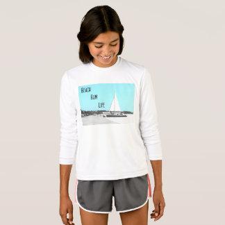 Girls' Beach Bum Sport-Tek Competitor T-Shirt