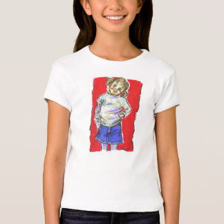 Girls' Bella Fitted T-Shirt