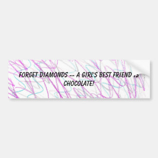 Girl's Best Friend Bumper Sticker