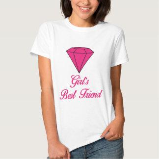 Girls Best Friend / Diamond Tshirt