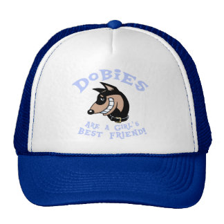 Girl's Best Friend Mesh Hats