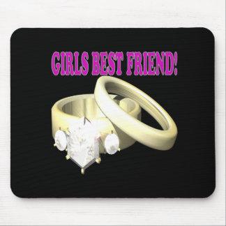 Girls Best Friend Mouse Pad