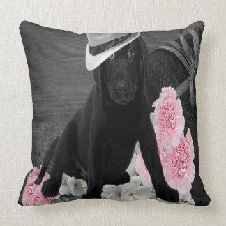 Girls Best Friend Throw Pillow