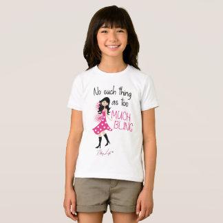 Girls' Bling Life Apparel Fine Jersey T-Shirt