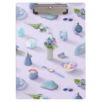 Girl's Blue Dream Clipboard