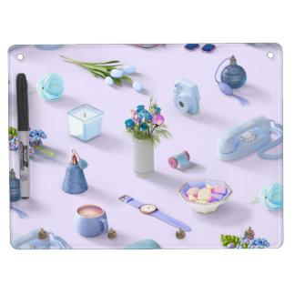 Girl's Blue Dream Dry-Erase Whiteboards