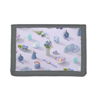 Girl's Blue Dream Tri-fold Wallet