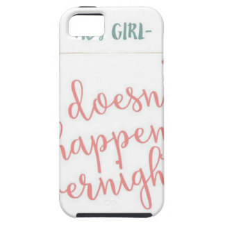 girls can achieve too iPhone 5 cover
