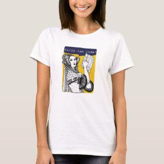 Girls can code! T-Shirt