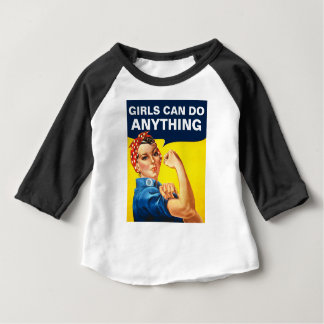 Girls Can Do Anything Baby T-Shirt