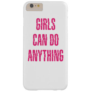 girls can do anything barely there iPhone 6 plus case