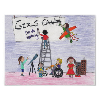 Girls Can Do Anything! Poster