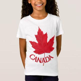 Girl's Canada Shirt Custom Canada Souvenir Shirt