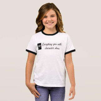 Girls Character Shoes Tee