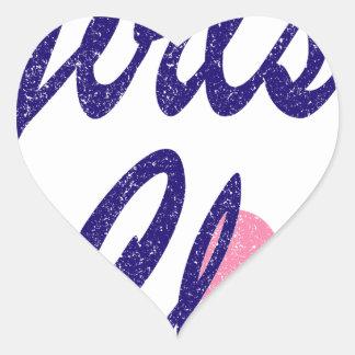 girls club heart sticker