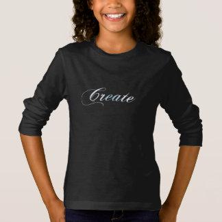 Girls Create long Sleeve T-Shirt