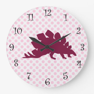 Girls Cute Dinosaur Clocks