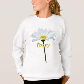 Girl's Daisy Sweatshirt Custom Daisy Kid's Shirt