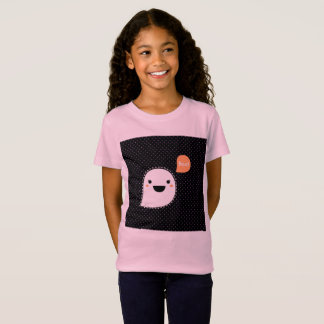 Girls design vintage tshirt with Ghost
