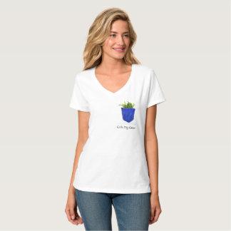 Girls Dig Green t-shirt