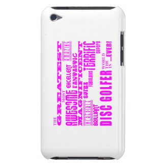 Girls Disc Golfers Pink Greatest Disc Golfer iPod Touch Covers