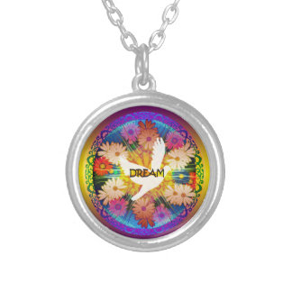 "Girl's""Dove Dream"" Floral  Design Necklace"