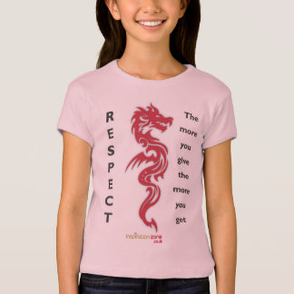 Girls Dragon Respect T-Shirt