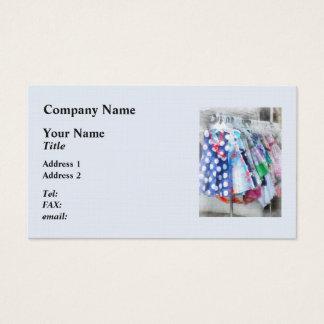 Girl's Dresses at Street Fair Business Card