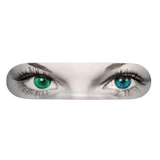 Girl's Eye's Skateboard