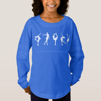 Girls Figure Skaters Long Sleeve Shirt