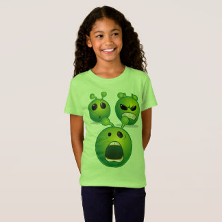 Girls' Fine Jersey T-Shirt Alien