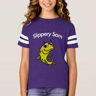 Girls Football Jersey. T-Shirt