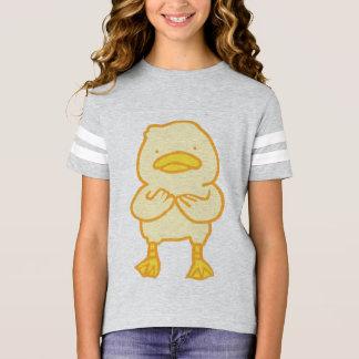 Girls' Football Shirt with Ducky