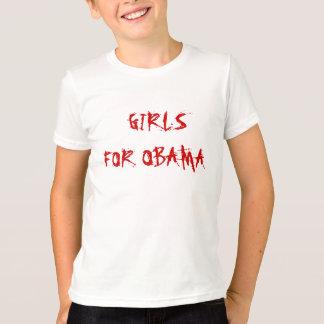 GIRLS  FOR OBAMA T-Shirt