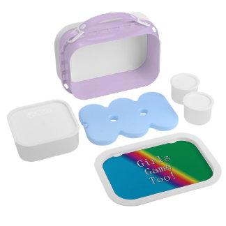Girls Game Too Rainbow Yubo Lunchbox