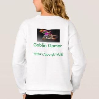 Girls Goblin Gamer sweater